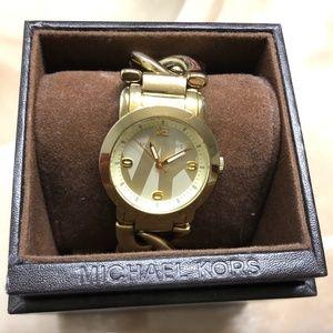Michael Kors Gold tone women's watch
